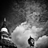 Предел Ayutthaya Таиланда Джулиана Стоковое Изображение RF