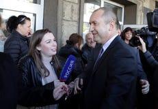 Преджелудок Radev кандидата в президенты Стоковая Фотография