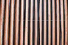 Предкрылок деревянной перегородки Стоковые Фото