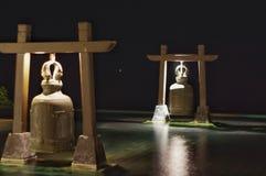 предметы колоколов над белизной Стоковое Изображение