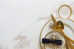 Предметы первой необходимости свадебного банкета Стоковое Изображение RF