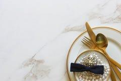 Предметы первой необходимости свадебного банкета Стоковые Фотографии RF