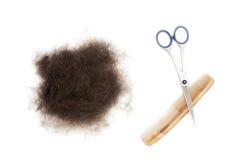 предметы hairdressing Стоковое Изображение RF