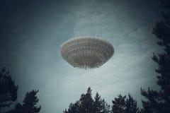 предмет летания неопознанный стоковое фото