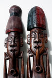 предмет искусства деревянный Стоковые Изображения