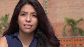 Предназначенная для подростков испанская девушка Стоковая Фотография