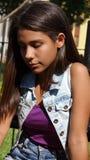 предназначенное для подростков девушки сиротливое Стоковое Изображение