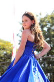 Предназначенный для подростков конкурс красоты девушки на фестивале Южной Африке Стоковые Изображения