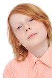 Предназначенный для подростков мальчик Стоковые Фото