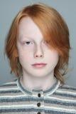 Предназначенный для подростков мальчик Стоковые Изображения RF