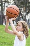 Предназначенный для подростков спортсмен Стоковые Изображения