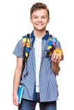Предназначенный для подростков студент мальчика Стоковая Фотография