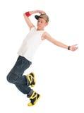 Предназначенный для подростков тазобедренный танцор хмеля Стоковые Изображения RF