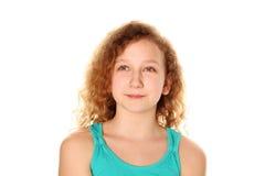 Предназначенный для подростков усмехаться девушки Стоковая Фотография