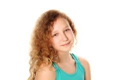 Предназначенный для подростков усмехаться девушки Стоковые Фотографии RF