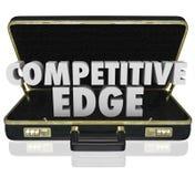 Предложение представления преимущества продаж портфеля конкурентного превосходства Стоковое Изображение