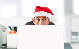 Предложения рождества онлайн Стоковое Изображение RF