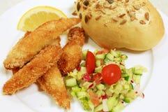 Предложения цыпленка с veg Стоковые Изображения
