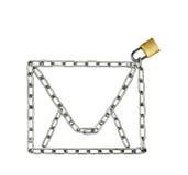 Предохранение от электронной почты Стоковое фото RF