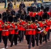 Предохранители Grenadier в Лондоне Стоковые Изображения