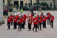 Предохранители Grenadier в Лондоне Стоковое Фото