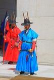 Предохранитель Кореи королевский на дворце Gyeongbokgung Стоковые Изображения