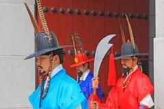 Предохранитель Кореи королевский на дворце Gyeongbokgung Стоковая Фотография