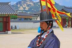 Предохранитель Кореи королевский на дворце Gyeongbokgung Стоковое фото RF