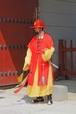 Предохранитель Кореи королевский на Gwanghwamun, дворце Gyeongbokgung Стоковое Изображение