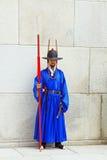 Предохранитель Кореи королевский на Gwanghwamun, дворце Gyeongbokgung Стоковые Изображения RF