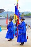 Предохранитель Кореи королевский на Gwanghwamun, дворце Gyeongbokgung Стоковое фото RF