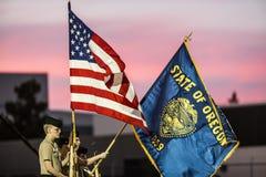 Предохранитель цвета для тех повлиянных на стрельбой в Roseburg Стоковое фото RF