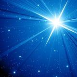 Предпосылка звезды Стоковые Изображения