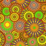 предпосылка искусства флористическая Стоковая Фотография RF