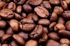 Предпосылка кофейных зерен Стоковое фото RF