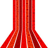 предпосылка объезжает красные нашивки Стоковые Фотографии RF