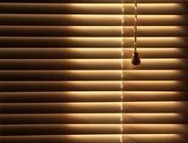 предпосылка ослепляет закрытое venetian Стоковое Фото