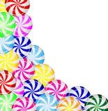 Предпосылка от конфет леденцов на палочке Стоковое фото RF