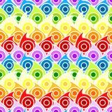 предпосылка падает радуга безшовная Стоковые Фотографии RF