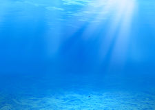 предпосылка подводная Стоковые Фотографии RF