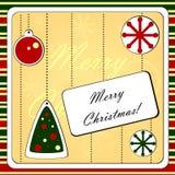 Предпосылка рождества Стоковая Фотография