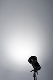 Предпосылка с светильником освещения Стоковое фото RF