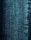 Предпосылка текстуры джинсовой ткани Стоковое Фото