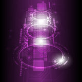 Предпосылка технологии цифров будущая Стоковые Фотографии RF