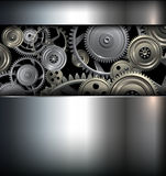 Предпосылка технологии Стоковые Изображения RF