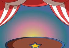 Предпосылка цирка Стоковое Изображение