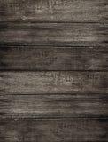 Предпосылка древесины темного коричневого цвета Grunge Стоковые Фото
