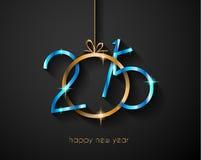 Предпосылка 2015 Новых Годов и счастливого рождеств Стоковые Фотографии RF