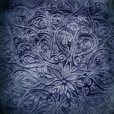 Предпосылка Grunge с востоковедными орнаментами Стоковые Фото