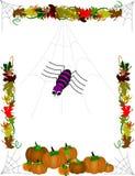 предпосылка halloween Стоковое Изображение